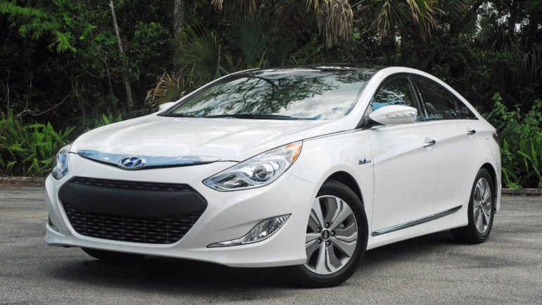 2013 Hyundai Sonata Hybrid Limited Review & Test Drive