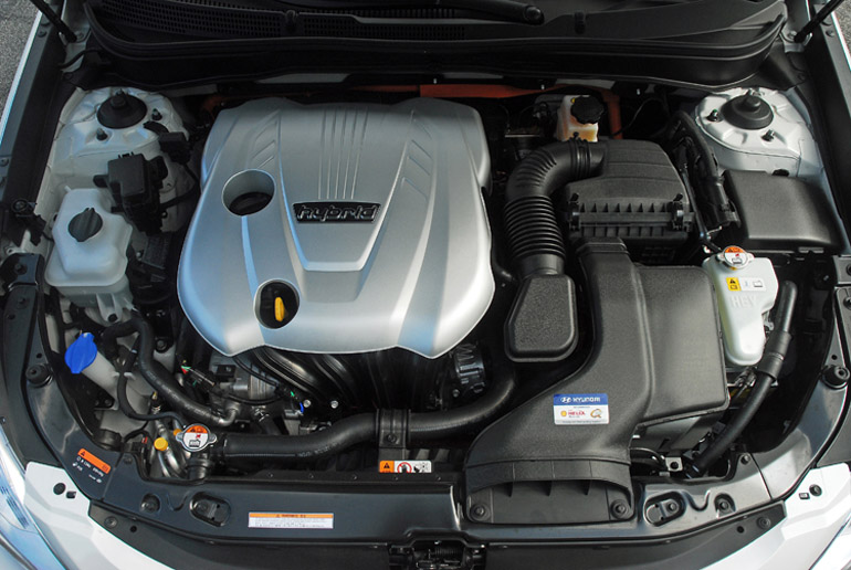 2013 Hyundai Sonata Hybrid Limited Engine Done Small