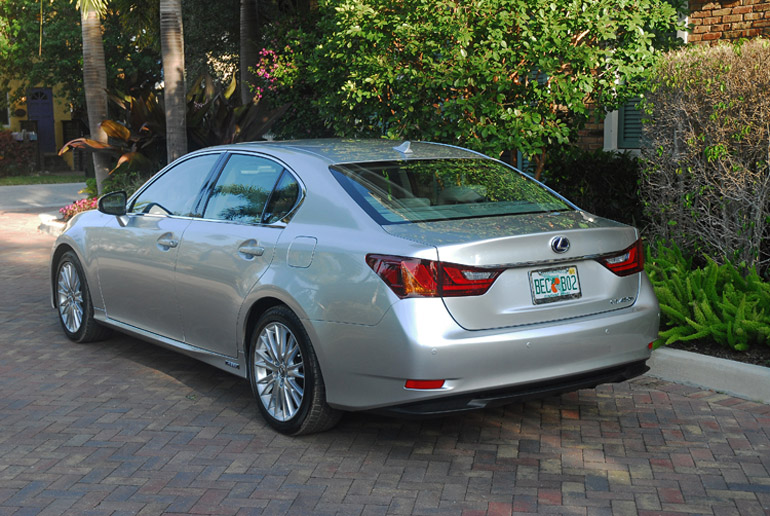 2013 Lexus GS450h Hybrid Beauty Rear Done Small