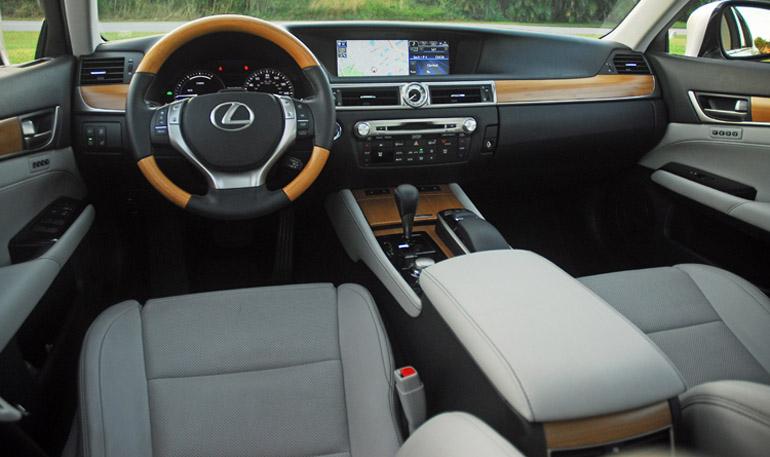 2013 Lexus GS450h Hybrid Dashboard Done Small