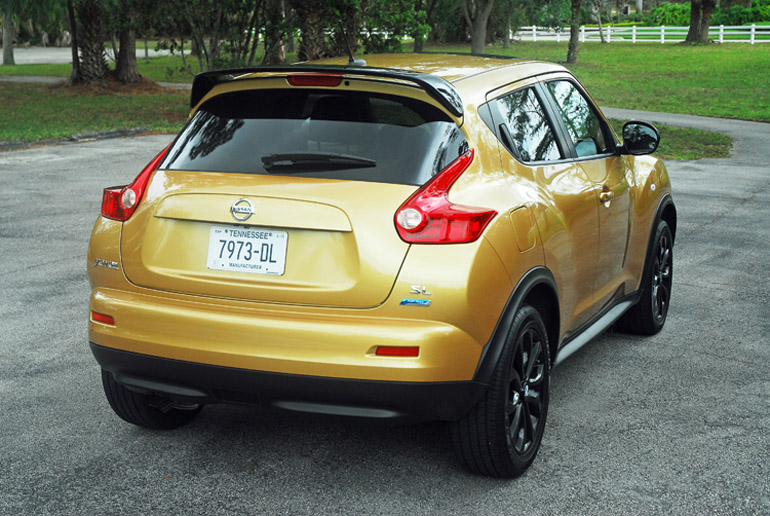 2013 Nissan Juke Midnight Special Beauty Rear Done Small