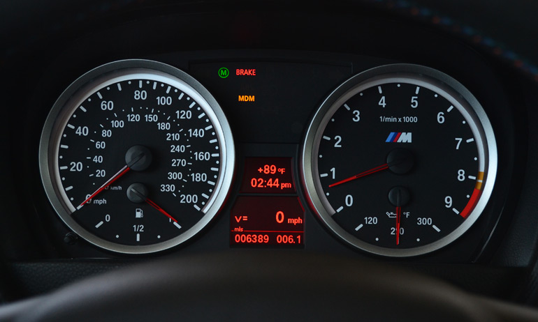 2013-bmw-m3-lime-rock-park-edition-gauge-cluster