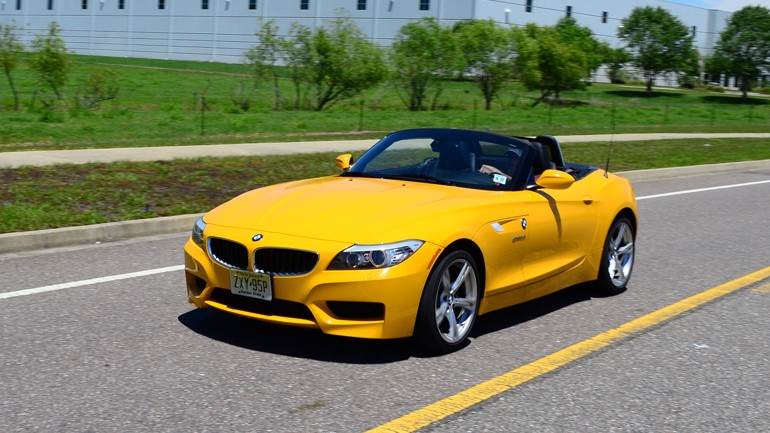 2013 BMW Z4 sDrive28i Roadster Review & Test Drive