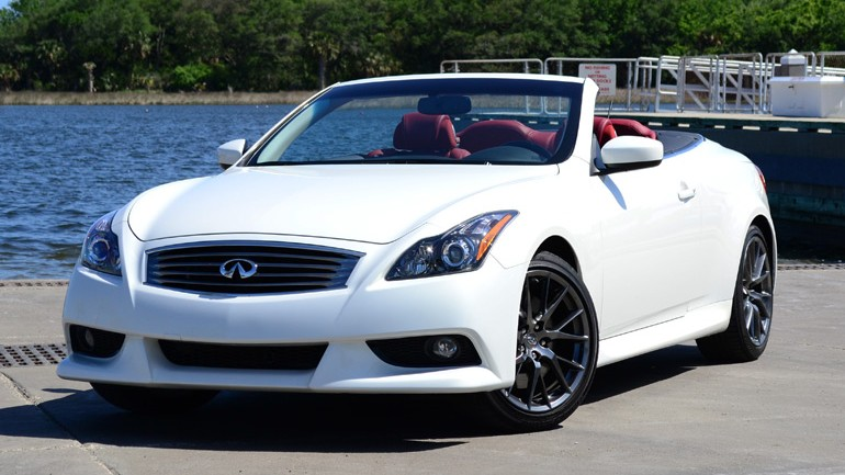 2013 Infiniti G37 IPL Convertible Review & Test Drive