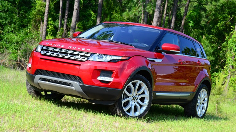 2013 Land Rover Range Rover Evoque – Quick Drive On and Off-Road