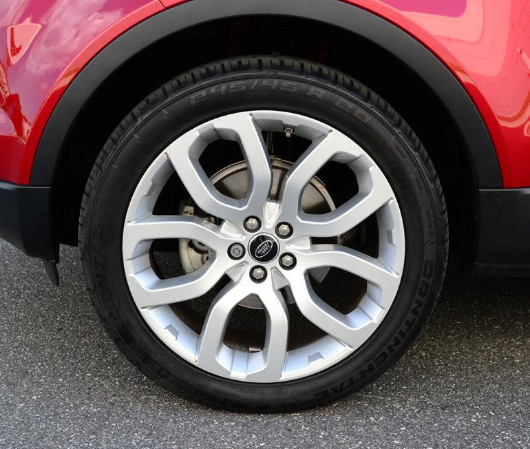 Land Rover Jacksonville >> 2013-land-rover-range-rover-evoque-20-inch-wheel-tire