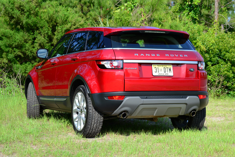 2013 land rover range rover evoque quick drive on and off road. Black Bedroom Furniture Sets. Home Design Ideas
