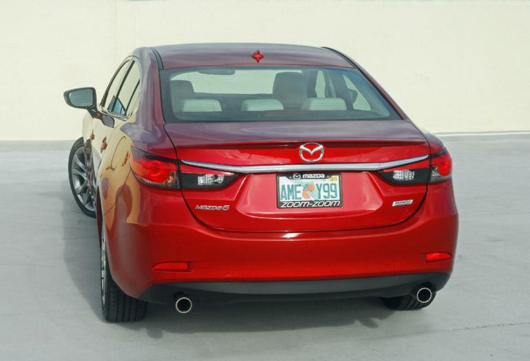 2014 Mazda 6i Sedan Beauty Rear Done Small