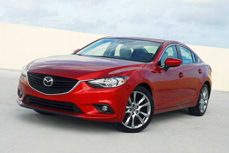 2014 mazda mazda6 grand touring review test drive. Black Bedroom Furniture Sets. Home Design Ideas