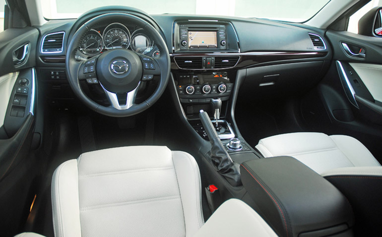 2014 Mazda 6i Sedan Dashboard Done Small