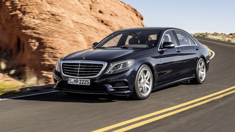 2014 Mercedes-Benz S Class Revealed