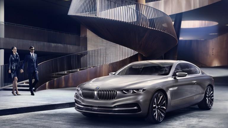 BMW Pininfarina Gran Lusso Coupe Revealed at Villa d'Este
