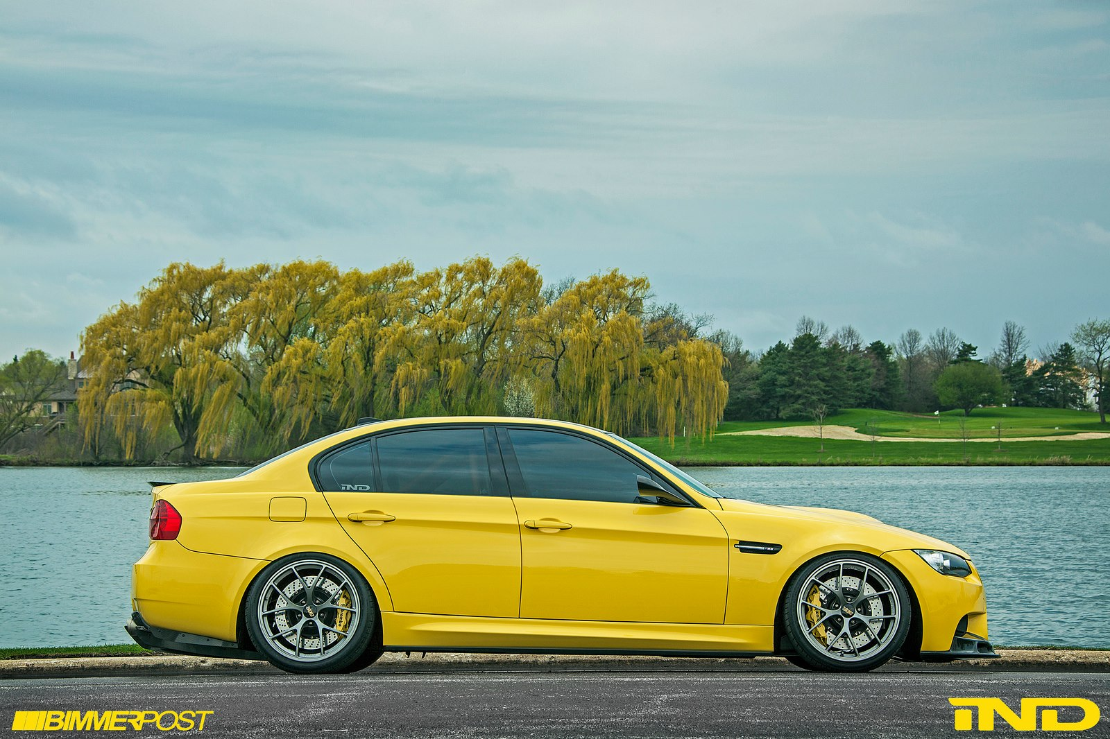 Improving Perfection Ind Distribution S Stunning Dakar Yellow E90 Bmw M3 Sedan Automotive Addicts