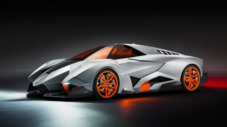 Lamborghini Egoista Concept Reiterates Excessiveness and Ego At the Same Time