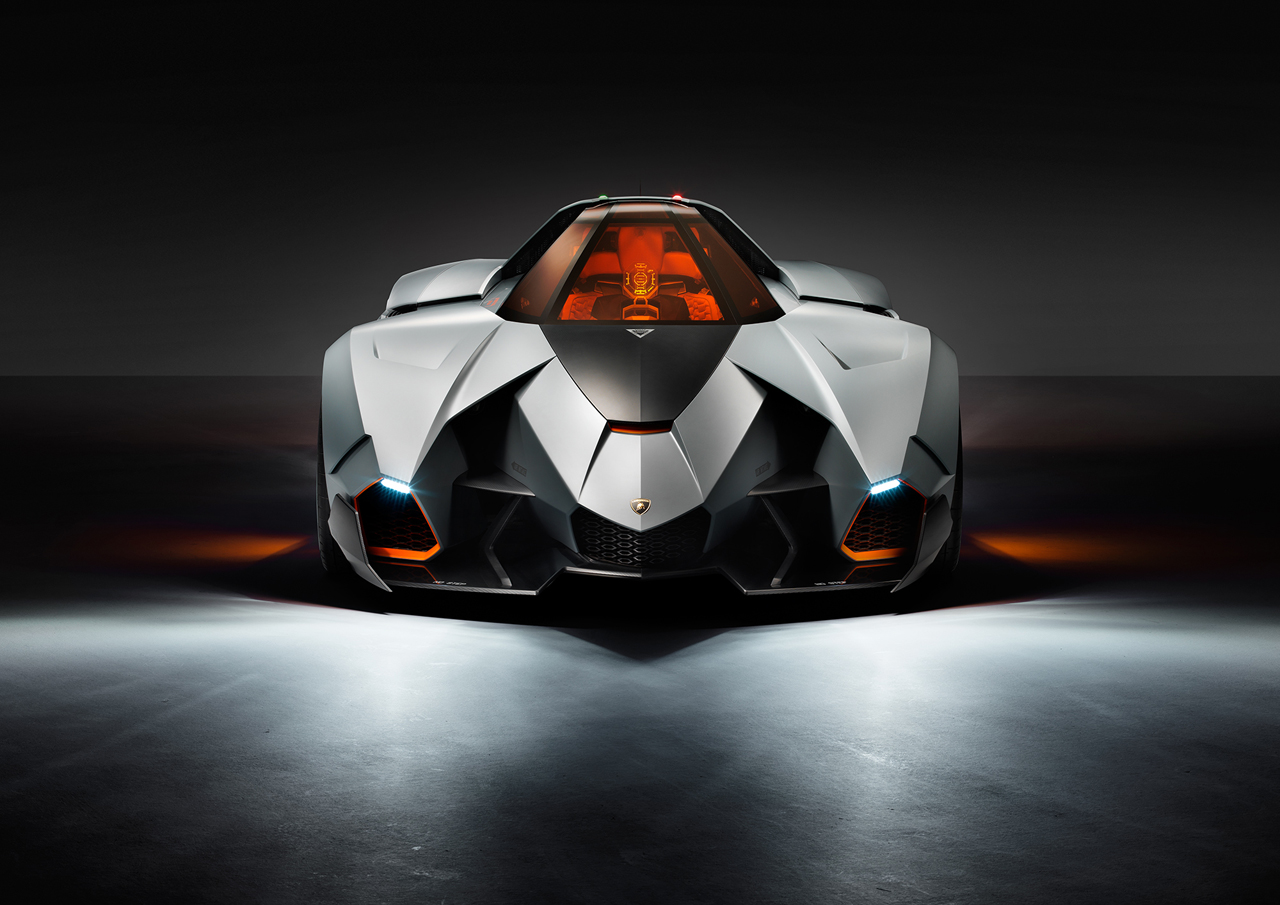 Lamborghini Egoista Walter De Silva S Homage For 50th Anniversary