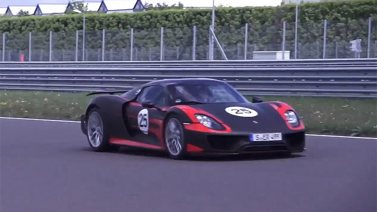 Chris Harris On Cars: Driving the 887 Horsepower Porsche 918 Spider – Video