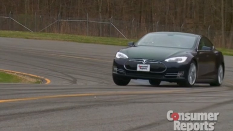 Tesla Model S Gets Praise from Consumer Reports with 99 out of 100 Evaluation Score