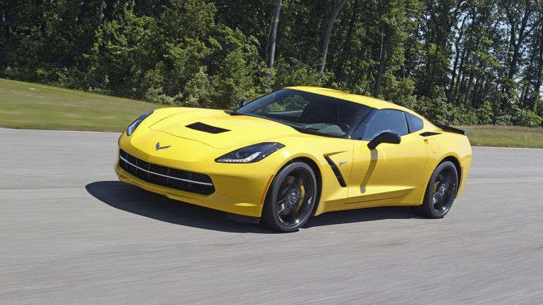 2014 Chevrolet Corvette Stingray Z51 Does 0-60 mph in 3.8 Seconds