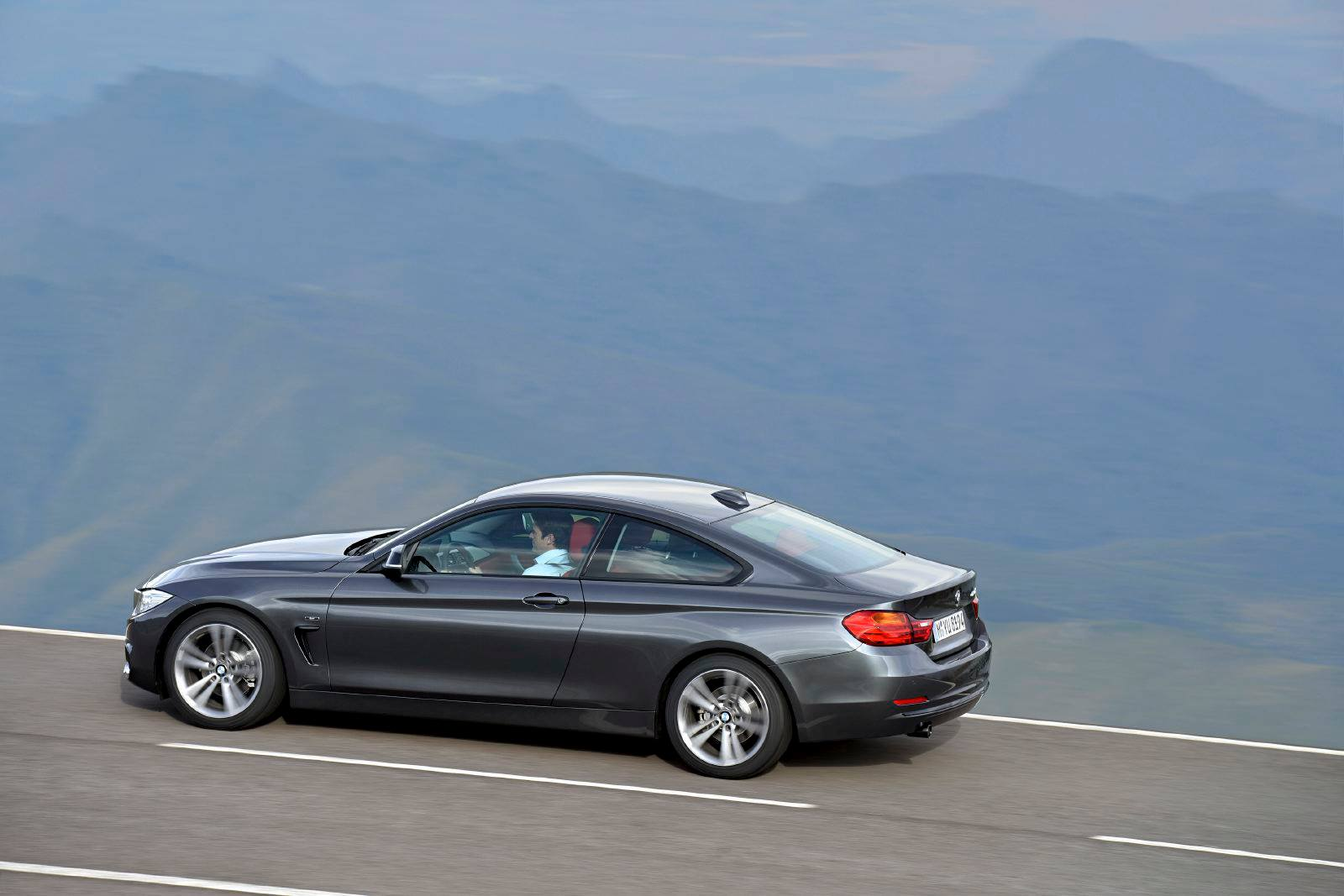 2014 bmw 4 series coupe images revealed. Black Bedroom Furniture Sets. Home Design Ideas