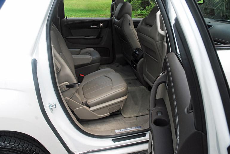 2013 GMC Acadia  Denali AWD Rear Seats Done Small