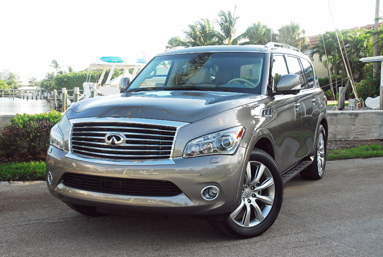2013 infiniti qx56 premium 4 4 review test drive. Black Bedroom Furniture Sets. Home Design Ideas