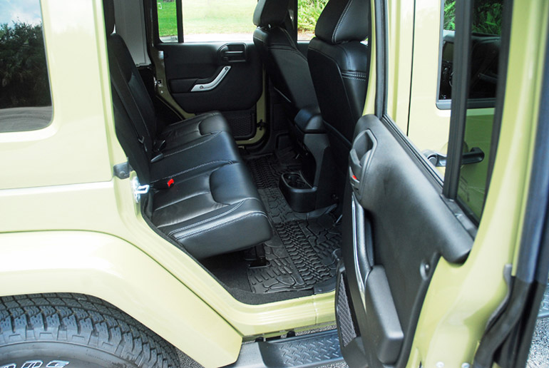 2013 Jeep Wrangler Four Door Back Seat Done Small