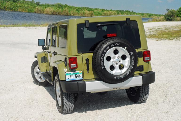 2013 Jeep Wrangler Four Door Beauty Rear Done Small