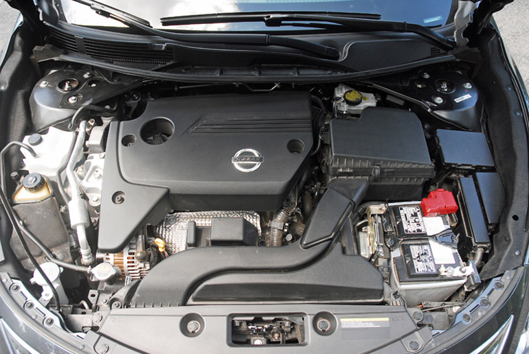 2013 Nissan Altima 25 SL Engine Done Small