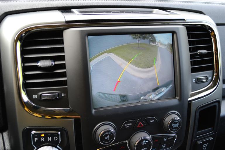Backup Camera System >> 2013 Ram 1500 Sport 4×4 Crew Cab First Drive