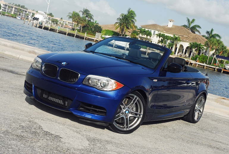 2017 Bmw 135is Convertible Beauty Right Up Done Small