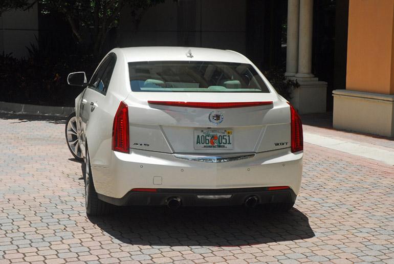 2013 Cadillac ATS Turbo Beauty Rear Done Small
