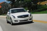 2013 Cadillac ATS Turbo Headon Action Left Done Small