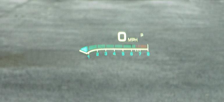 2013 Cadillac ATS Turbo Heads Up Display Done Small