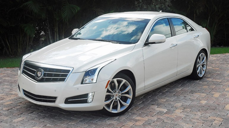2013 Cadillac ATS 2.0 Turbo Premium Review & Test Drive