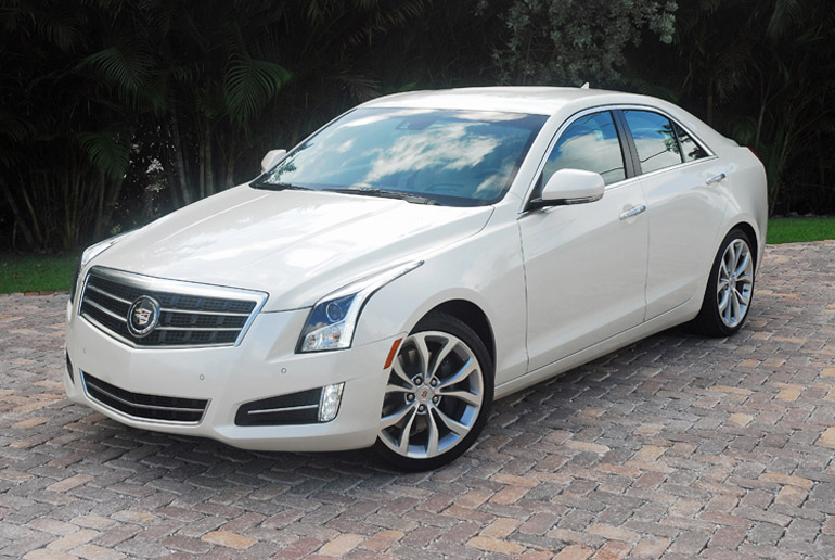 2013 Cadillac ATS Turbo Two Beauty Right Wide Two Done Small