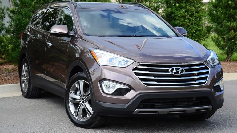 2013 Hyundai Santa Fe Limited FWD Review & Test Drive