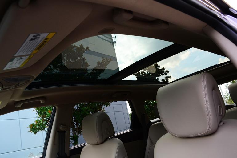 2013 Hyundai Santa Fe Limited Panoramic Sunroof