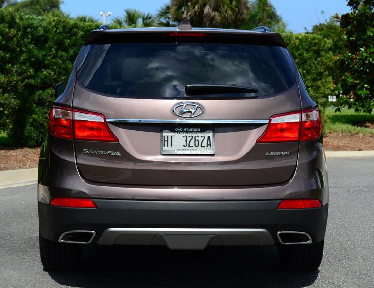 2013 Hyundai Santa Fe Limited Rear