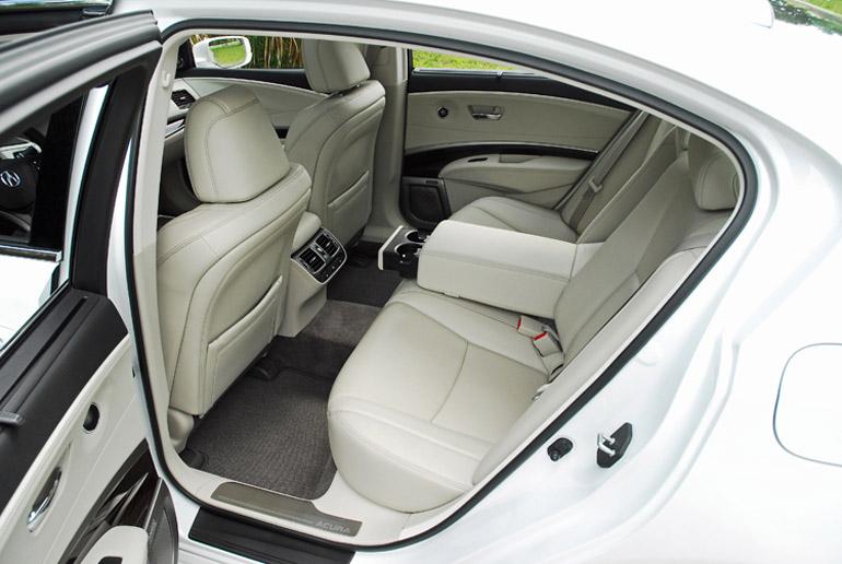 2014 Acura RLX Advance Back Seats Done Small