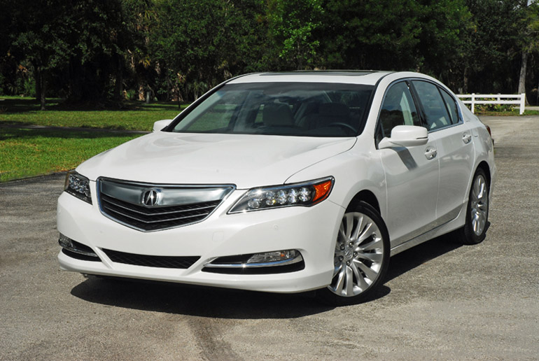 2014 acura rlx review test drive. Black Bedroom Furniture Sets. Home Design Ideas