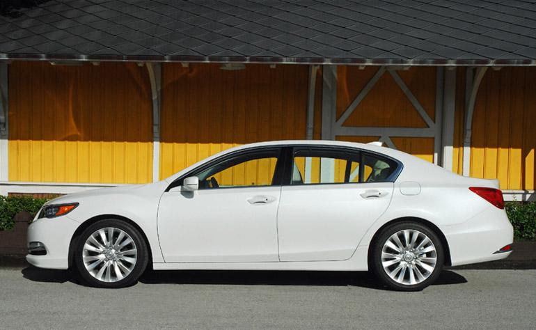 2014 Acura RLX Advance Beauty Side Done Small