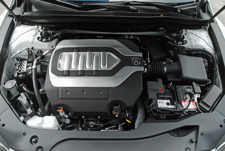 2014 Acura RLX Advance Engine Done Small
