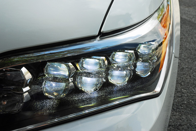 2014 Acura RLX Advance LED Headlight Cluster Done Small