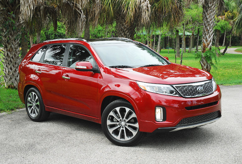 2014 Kia Sorento SX SUV Beauty Left Wide Done Small
