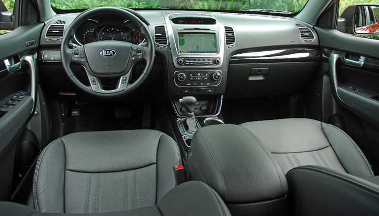 2014 Kia Sorento SX SUV Dashboard Done Small
