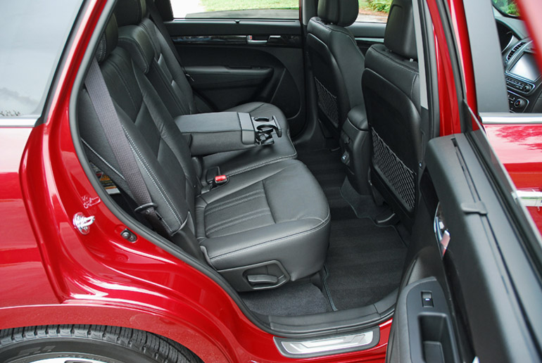 2014 Kia Sorento SX SUV Rear Seats Done Small