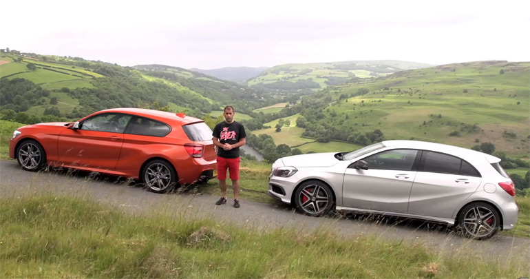 Mercedes-Benz A45 AMG vs BMW M135i: Chris Harris On Cars Video