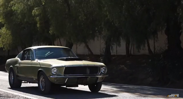 Big Muscle on Drive Returns: 1967 Mustang California Drag Style – Video