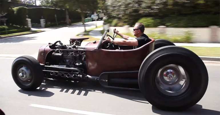 Satan's Rat-Rod: 1931 Ford – Big Muscle Video
