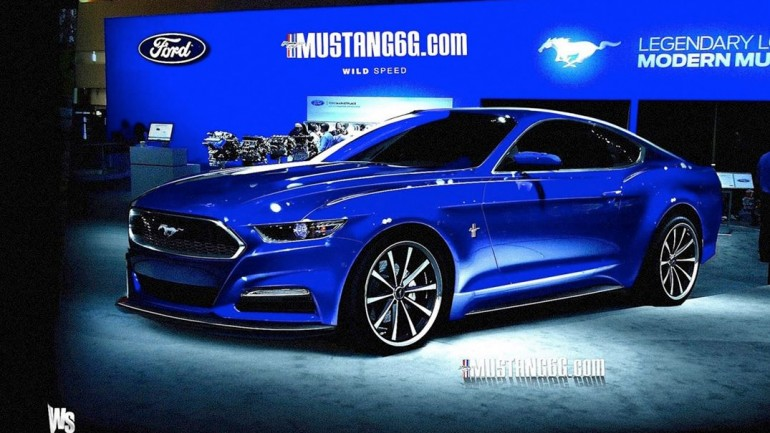 Next Generation (2015) Ford Mustang Visualized